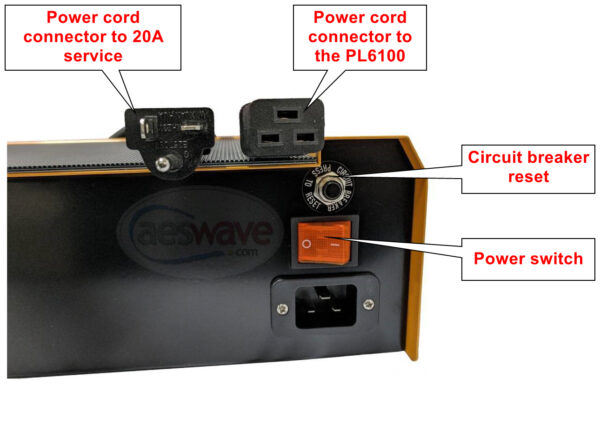 PL6100 12 Volt 100A Flashing Power Supply and 60/40/10A Battery Charger